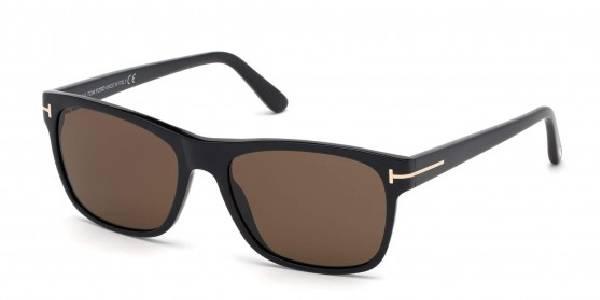 Gafas de sol TOM FORD Giulio FT0698 01J BLACK SHINE