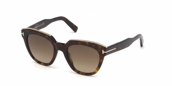 Gafas de sol TOM FORD Haley FT0686 52K DARK HAVANA