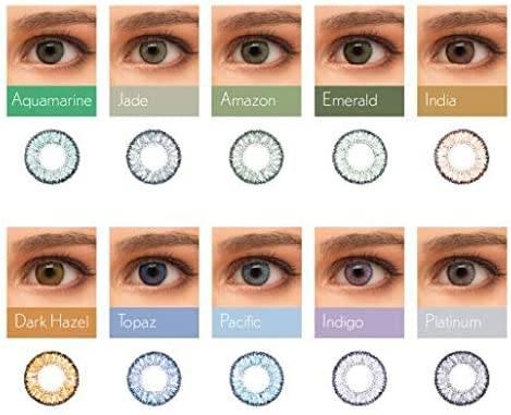 De colores SOFLENS NATURAL COLORS GRADUADO (Caja de 2 lentillas)
