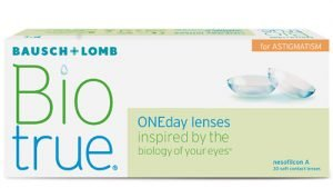 Lentillas BIOTRUE ONE DAY FOR ASTIGMATISM