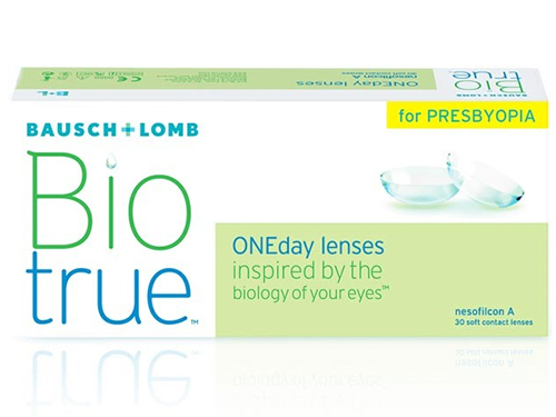 Lentillas BIOTRUE ONE DAY FOR PRESBYOPIA