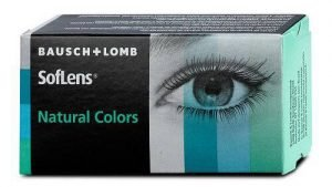 De colores SOFLENS NATURAL COLORS (Caja de 2 lentillas)