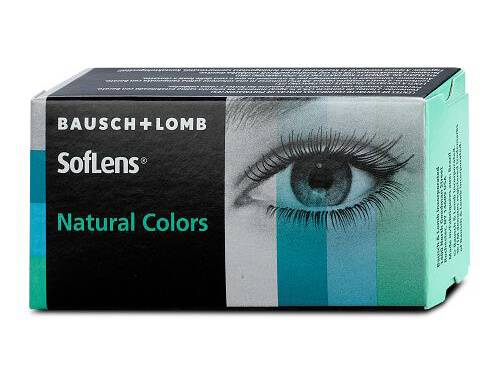 De colores SOFLENS NATURAL COLORS GRADUADO (Caja de 2 lentillas)
