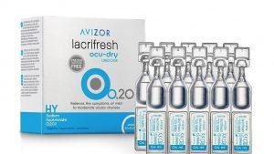 Solución única y Gotas oculares Avizor Lacrifresh Ocu-Dry 0,20% Unidosis (20x 0,4ml)
