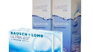 Lentillas Pack B+L ULTRA + LENS 55 CARE Hyaluronate 360 ml
