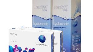 Lentillas Pack BIOFINITY + LENS 55 CARE Hyaluronate 360 ml