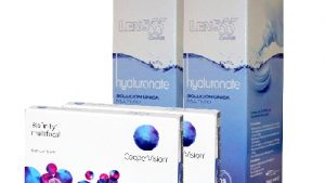 Lentillas Pack BIOFINITY MULTIFOCAL + LENS 55 CARE Hyaluronate 360 ml