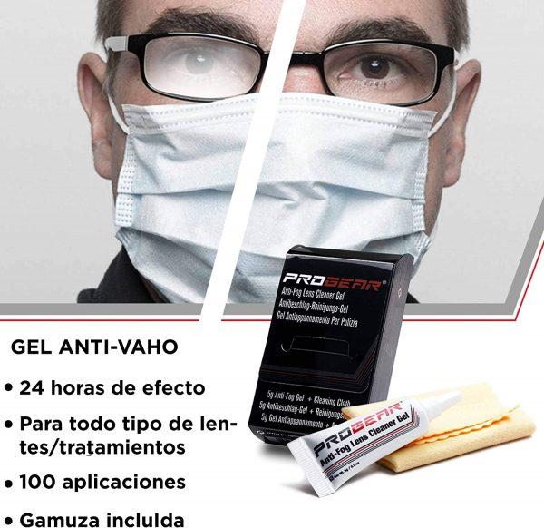 Gafas de sol Gel limpiador de lentes ANTI VAHO Progear